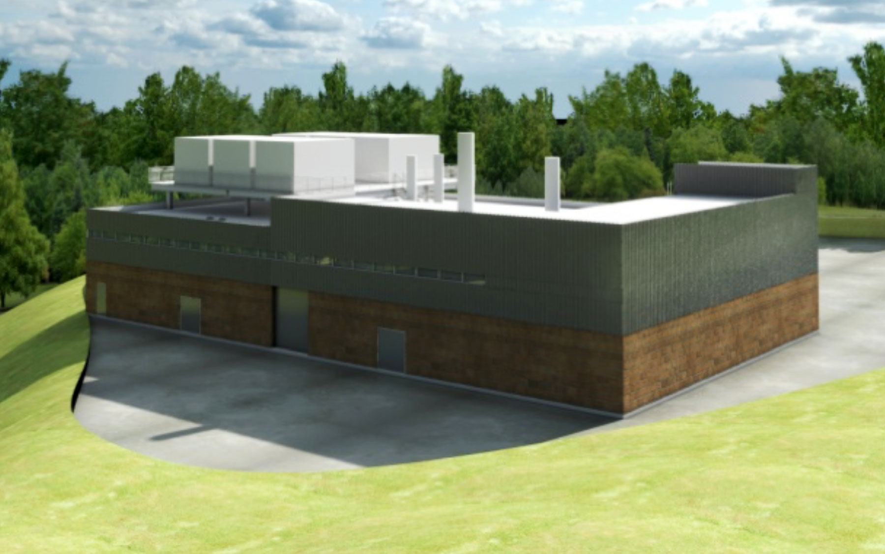Central Utility Plant Rendering